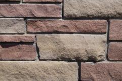 Teste padrão do tijolo Fotos de Stock Royalty Free