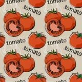 Teste padrão do tomate Fotografia de Stock Royalty Free