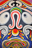 Teste padrão do Totem na área ocidental chinesa Imagens de Stock Royalty Free