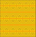 Teste padrão do triângulo Imagens de Stock Royalty Free