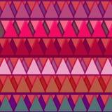 Teste padrão do triângulo Foto de Stock