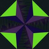 Teste padrão do triângulo Imagem de Stock
