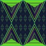 Teste padrão do triângulo Fotos de Stock