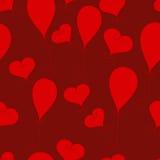 Teste padrão do Valentim Ilustração Royalty Free