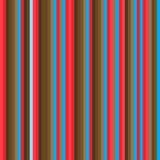 Teste padrão do vermelho e do Brown Imagem de Stock
