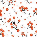 Teste padrão do vetor com flores e plantas Decoração floral Fundo sem emenda floral original Aquarela brilhante das cores ilustração stock