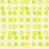 Teste padrão do vetor com os pontos coloridos cal Imagem de Stock Royalty Free