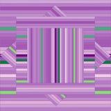 Teste padrão do vetor com quadrados alinhados Textura roxa abstrata Fotografia de Stock