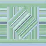 Teste padrão do vetor com quadrados alinhados Textura verde abstrata Fotografia de Stock