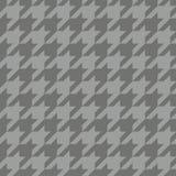 Teste padrão do vetor da telha de Houndstooth Imagem de Stock Royalty Free