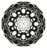 Teste padrão do vetor - roseta da flor Fotos de Stock