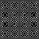 Teste padrão do vintage em um fundo cinzento com elementos originais Fotos de Stock