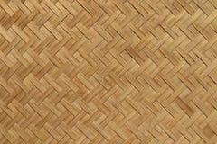Teste padrão do weave de sarja da cestaria Fotografia de Stock Royalty Free