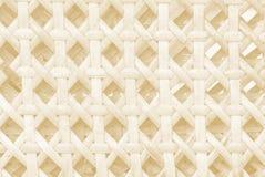 Teste padrão do Weave do fundo de bambu fotos de stock royalty free