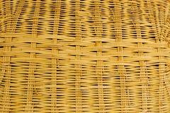 Teste padrão do weave do Rattan Imagens de Stock Royalty Free