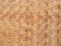 Teste padrão do weave do rattan Fotos de Stock Royalty Free