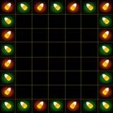 Teste padrão dois de Candycorn ilustração royalty free