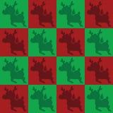 Teste padrão dos cervos Fotos de Stock Royalty Free