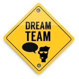 Teste padrão dos elementos do fundo da equipe ideal, cartaz abstrato do negócio da qualidade super ilustração stock