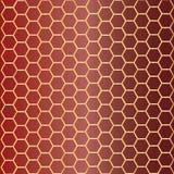 Teste padrão dos favos de mel Imagem de Stock