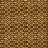 Teste padrão dos favos de mel Foto de Stock