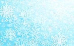 teste padrão dos flocos de neve Ilustração do Vetor