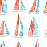 Teste padrão dos navios de navigação ilustração royalty free