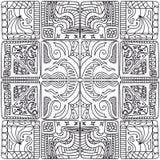 Teste padrão dos quadrados Foto de Stock Royalty Free