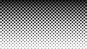 Teste padrão dos quadrados pretos no fundo branco video estoque