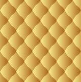 Teste padrão dourado Imagem de Stock Royalty Free
