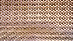Teste padrão dourado da textura da superfície de metal fotografia de stock royalty free