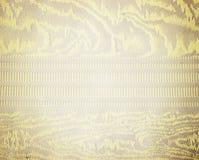 Teste padrão dourado de matéria têxtil de brocado do ornamento floral Imagem de Stock Royalty Free