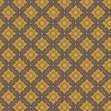 Teste padrão dourado do vintage Imagens de Stock Royalty Free