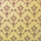 Teste padrão dourado sem emenda do huno Foto de Stock Royalty Free