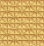 Teste padrão dourado Fotos de Stock