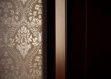 Teste padrão e parede Home Foto de Stock Royalty Free