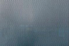 Teste padrão e textura do sumário da grade do metal Imagens de Stock Royalty Free