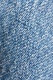 Teste padrão em calças de brim Imagem de Stock