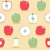 Teste padrão escandinavo da maçã - ilustração ilustração do vetor