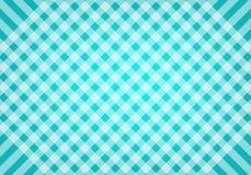 Teste padrão escocês azul e verde abstrato do fundo no vetor Imagem de Stock Royalty Free