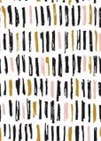 Teste padrão escovado ilustração do vetor
