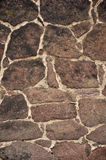 Teste padrão escuro da parede de pedra Imagens de Stock Royalty Free