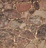 Teste padrão escuro da parede de pedra Imagens de Stock