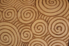 teste padrão espiral Fotografia de Stock