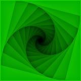 Teste padrão espiral das lâminas do túnel Imagens de Stock