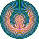 Teste padrão espiritual Imagem de Stock