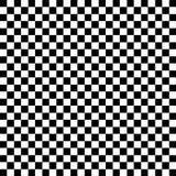 Teste padrão preto e branco da verificação Foto de Stock Royalty Free