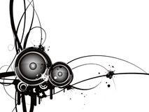 Teste padrão estereofónico Ilustração do Vetor