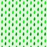 Teste padrão estilizado da folha Fotografia de Stock