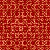 Teste padrão festivo do vermelho alaranjado Fotos de Stock Royalty Free